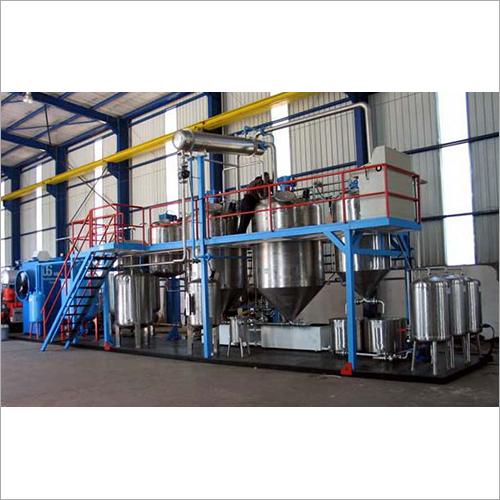 Industrial Biodiesel Plant