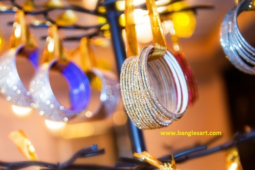 Colorful Glass Bangles