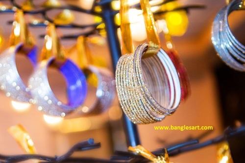 Colorful Glass Bangles