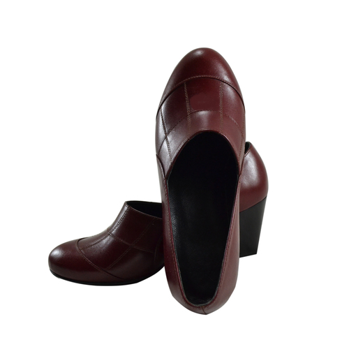 lady formal genuine leather shoes
