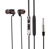 Stereo sound in - Ear earphone heavy bass 3.5 mm audio jack, Superior sound universal Bluei Bang Bang B6 Wired handfree with mic.