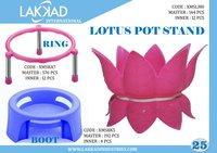 Lotus Pot Stand