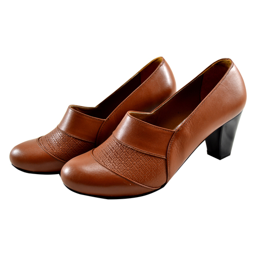 formal genuine leather lady shoes
