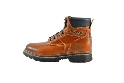 genuine leather man ankle boot