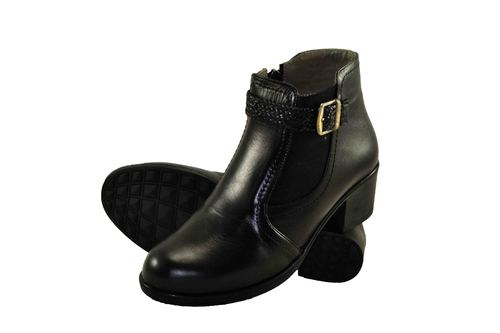 Genuine Leather Lady Ankle Boot
