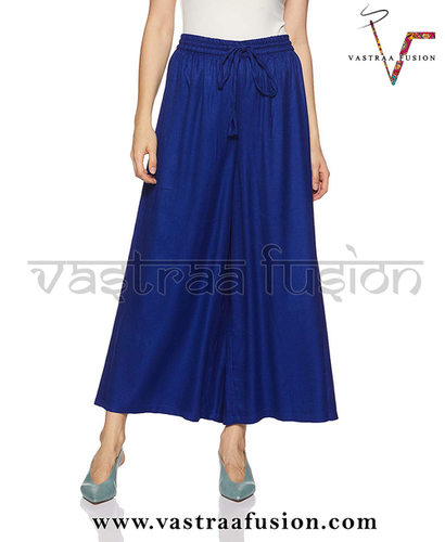 Ladies Plain Rayon Sharara Divider