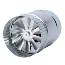Inline exhaust blower