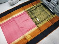 Pure Silk Double Warp Side Butta Saree