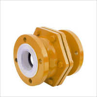 PFA Lined Ball Check Valve