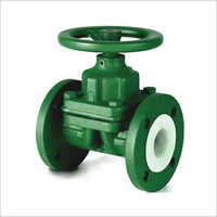FEP Lined Diaphragm Valve