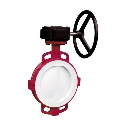 PVDF Lined Butterfly Valve