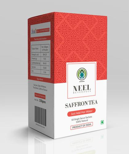 Instant Saffron Tea Premix