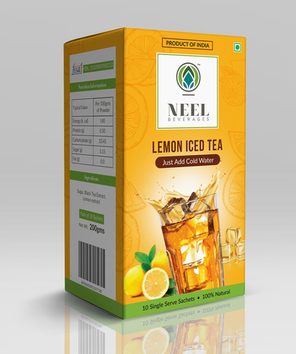 Instant Lemon Iced Tea