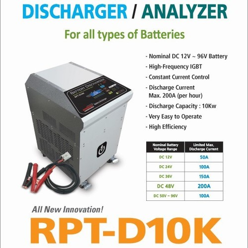 Prime RPT-D10K Universal Battery Discharge Tester and Analyzer