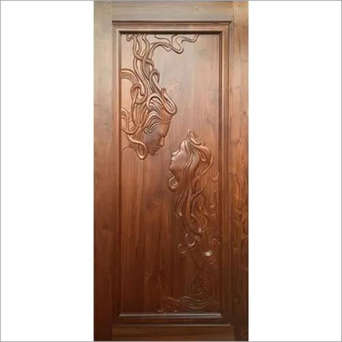 Sagwan CNC Wooden Doors