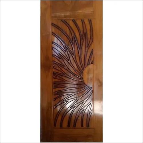Teak CNC Wooden Doors