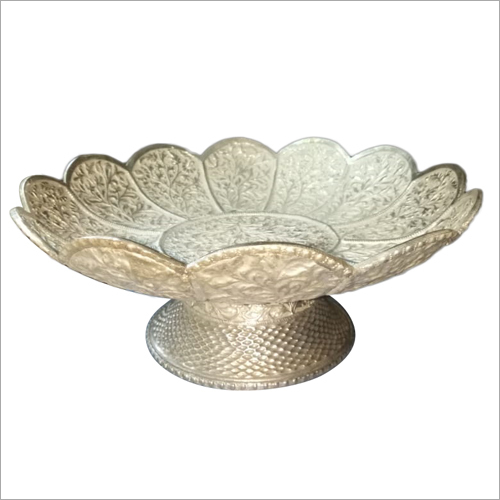 925 Silver Article Handicraft Fruit Bowl