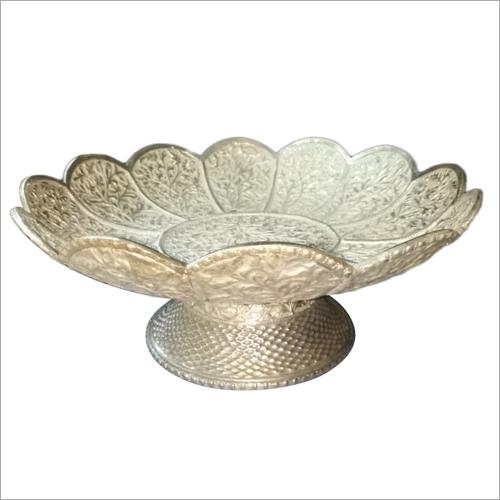 Silver Handicraft Fruit Bowl
