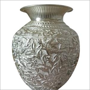 Silver Handicraft Pot
