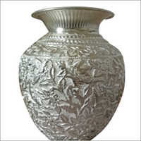 Silver Handicraft Pot
