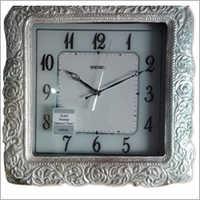 Silver Article Wall Clock
