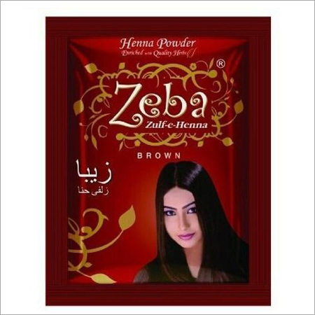 Zeba Brown Henna Powder