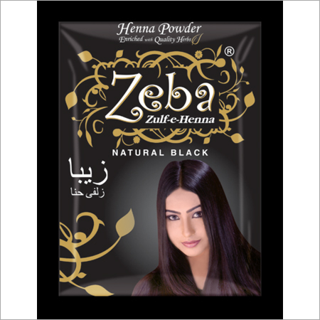 Zeba Black Henna Powder