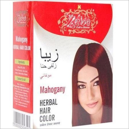 Zeba Mahogany Herbal Hair Color
