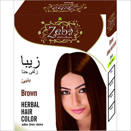 Zeba Brown Herbal Hair Color