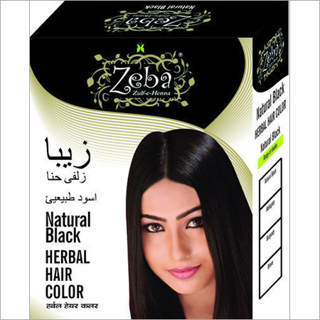 Zeba Natural Black Herbal Hair Color
