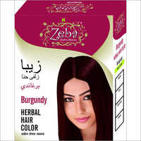 Zeba Burgundy Herbal Hair Color