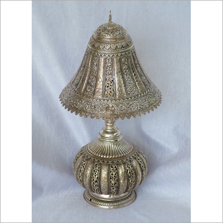 Silver Decorative Lamp