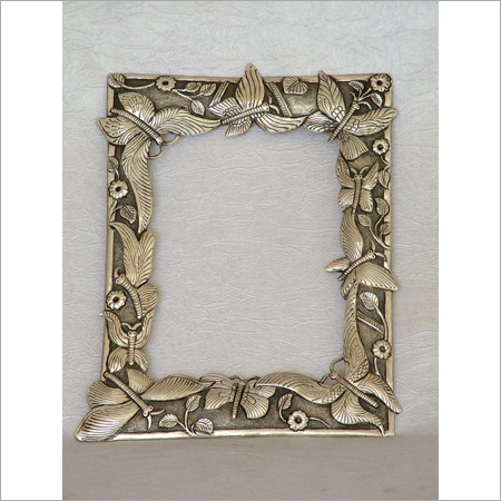 Silver Decorative Photo Frame