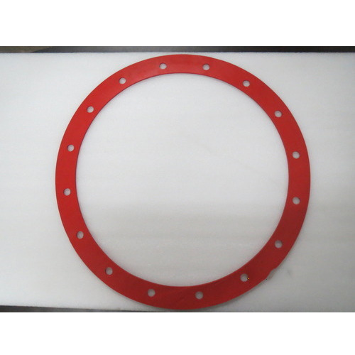 PolyRubb Red Silicone Rubber Gaskets