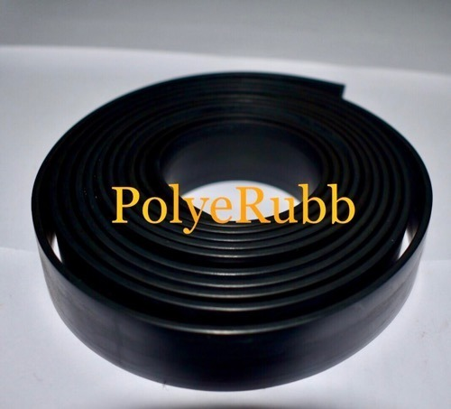Polyerubb Black Nitrile Rubber Strip