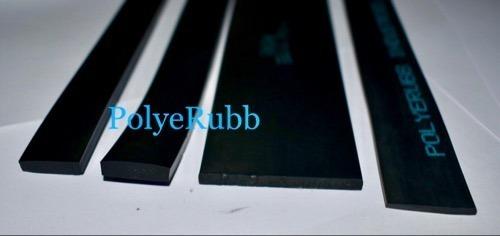 Polyerubb I Black Neoprene Rubber Strips