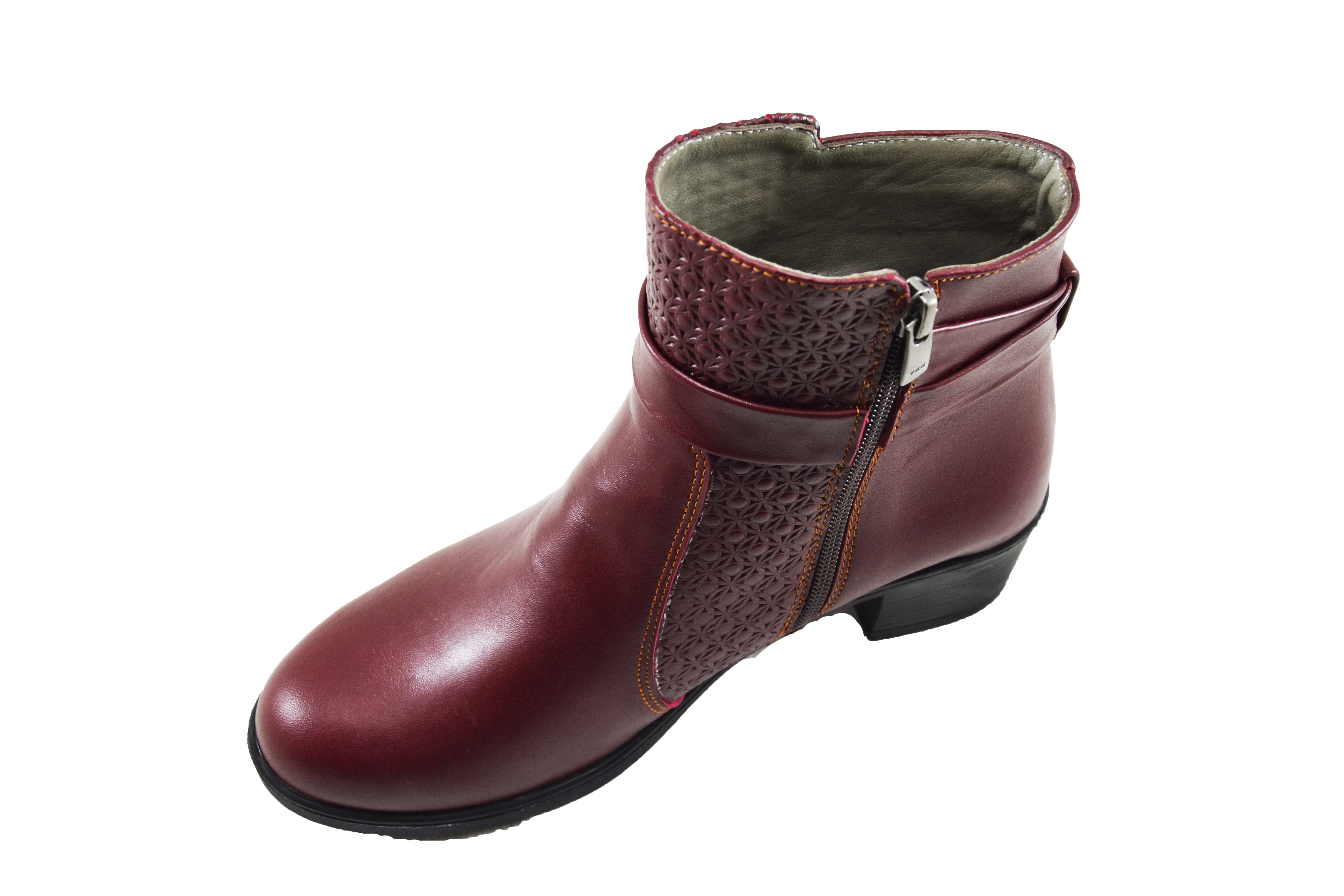 Genuine Leather Lady Boot