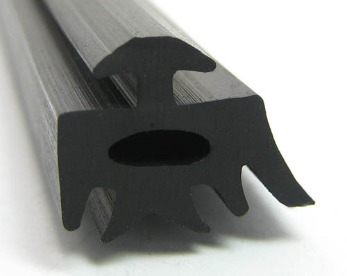 PolyRubb Black EPDM Profile For Aluminum Sections