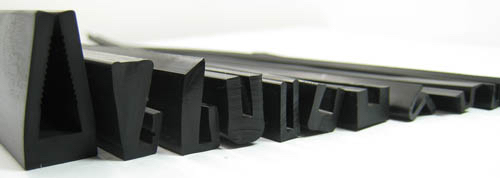 Black Neopren Extruded Products