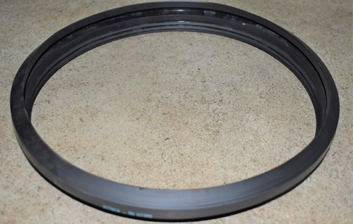 Polyerubb Black Rubber Pressure Gasket Ring