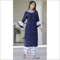 Printed Kurti With Pant