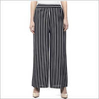 Ladies Striped Palazzo