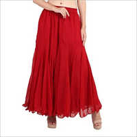 Plain Long Skirt