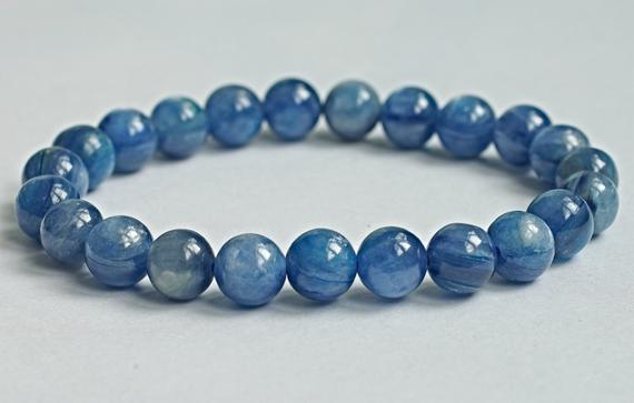 Blue Kyanite Stone Bracelet