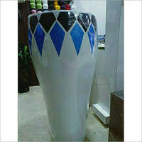 FRP Round Flower Pot