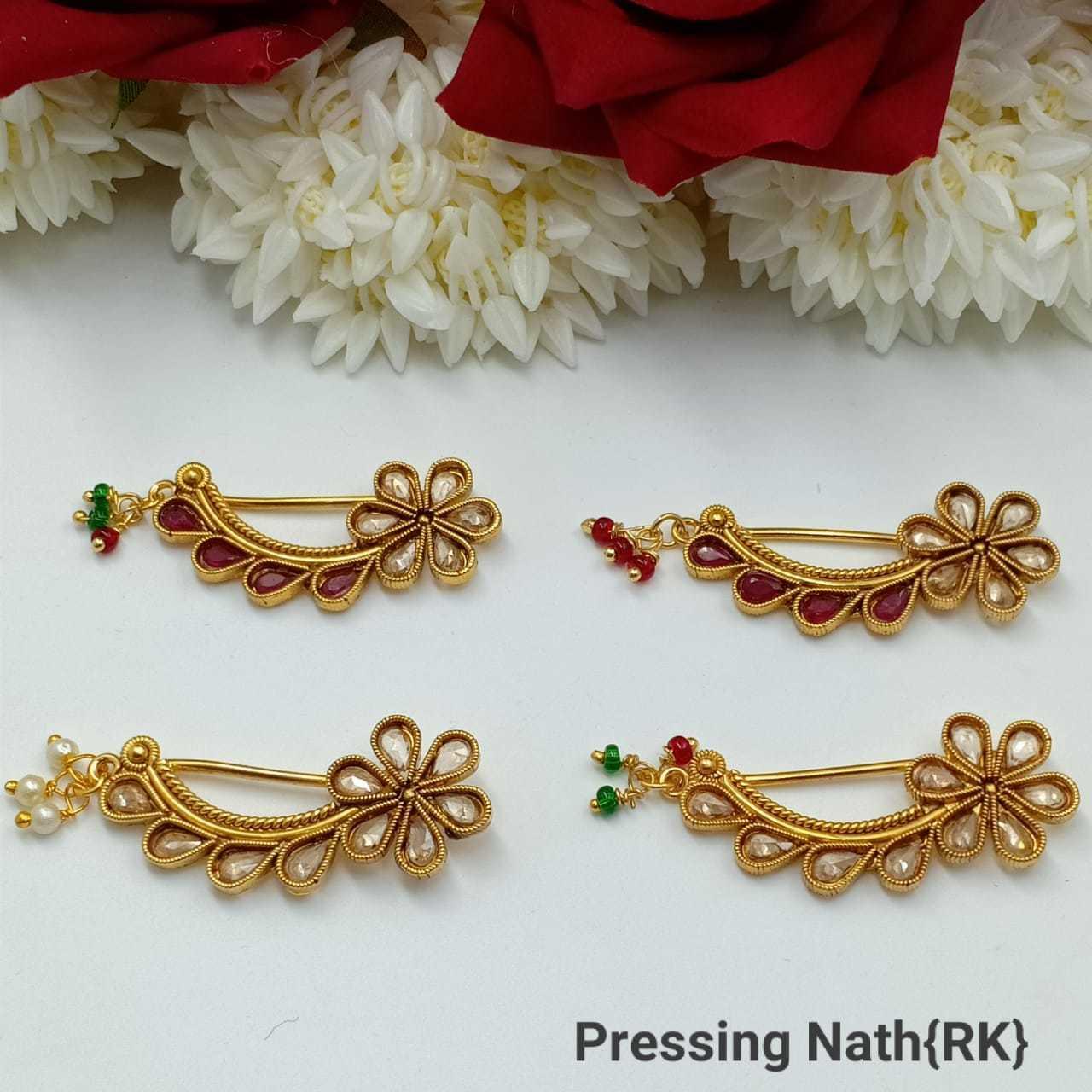 Marathi Pressing Nose Pin