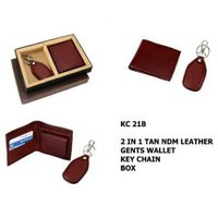mens leather wallet handle keys locked