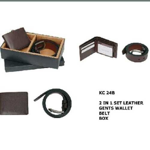 leather balts and wallet