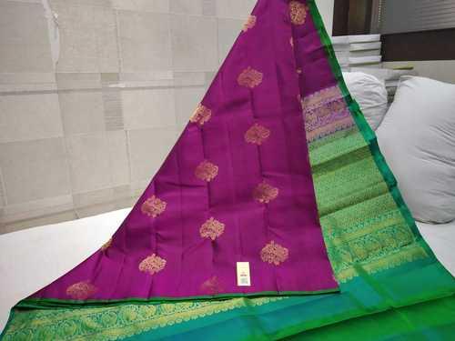 Pure Silk Thunread Soft Silk Saree