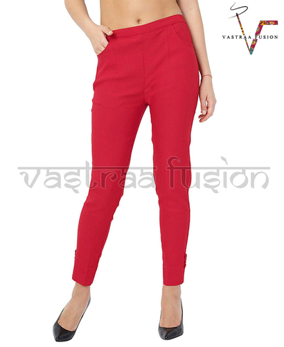 Ladies Ankle Lycra Pants